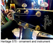 Heritage 575 Custom guitar