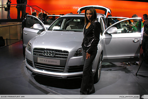 Carla Vallet Sings The New Audi Q Song Content On Arkade - Audi car song